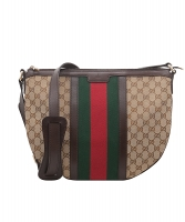 Gucci Vintage Web GG Canvas Crossbody Bag