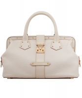 Louis Vuitton White Suhali L'Ingenieux PM Bag