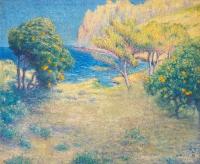 Vallée des orangers - William Degouve de Nuncques