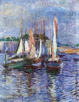 Port of Concarneau, France 1920 - Johanna Catharina Antoinetta (Jo) Koster