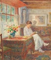 Femme lisante - Evert Pieters