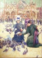 Piazza San Marco, Venice - Francois (Franz) Gailliard