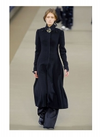 Chanel Black Maxi Coat 06A - Runway