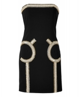 Moschino Black Bustier Dress