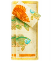 Hermès A Set Fish Beach Towels 65x95cm.