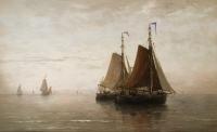 Calm sea, 1875
