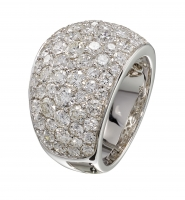 Artur Scholl 18 Carat White Gold Diamond Ring - Artur Scholl