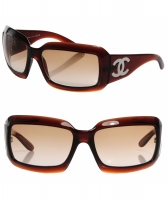 Chanel Mother of Pearl Sunglasses 5076-H Brown - Chanel