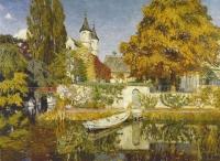 Kasteel Ryvissche in Zwijnaarde - Maurice Sys