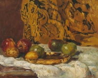 Still life with apples - Willem de Zwart