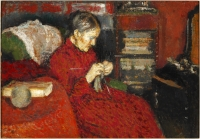 La tricoteuse - Georges Lemmen