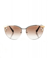 Louis Vuitton Metallic Lila Pilot Sunglasses