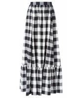 Dolce & Gabbana Gingham Cotton Maxi Skirt - Dolce & Gabbana