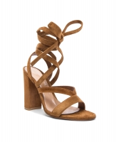 Gianvito Rossi Suede 'Janis' High Sandals