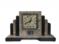 M240 French marble Atmos mantel clock Reutter, number 1792