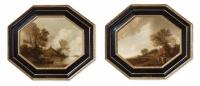 Pair of Dutch landscapes - Pieter Jansz van Asch