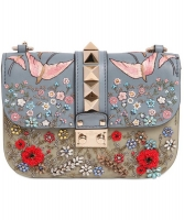 Valentino Garden Couture Small Chain Crossbody Bag