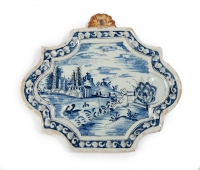 Delftware plaque