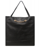 Lanvin Black Leather Shopper