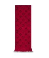 Louis Vuitton Red Logomania Scarf - Louis Vuitton