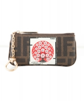 Fendi Zucca Flags Key and Change Holder - Limited Edition