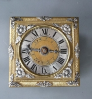 A Renaissance Tischuhr / a single hand table clock by David Weber, Augsburg c. 1650.