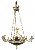 A French Charles X chandelier