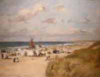 Zonnige dag op het strand van Zandvoort