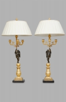 A beautiful pair of French Charles X Candelabras, circa 1830