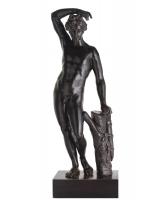 Vroeg 18e eeuwse Bronzen  Beeld van Apolino