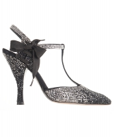 Tom Ford for Yves Saint Laurent Rhinestone Spectator Shoes - Yves Saint Laurent