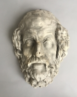 Plaster mask of Homer