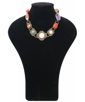 Philippe Ferrandis Glass Beads Necklace