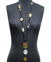 Philippe Ferrandis 'Orient Express' Jade Amulet Necklace - Philippe Ferrandis