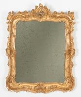 Louis XV Rechthoekige Spiegel