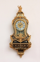 A small French Regence boulle bracket clock, Delorme Paris, circa 1725