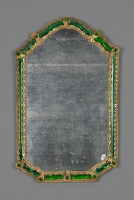 Venetian 18th century Murano Glass mirror