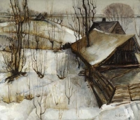 'De Hooge Wilgen (Loosdrecht)' - Ernst Leyden