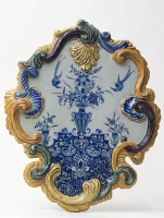 Plaque in Polychrome Delft