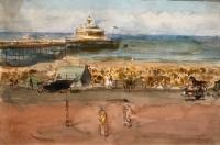 Zonnige Dag, de Pier van Scheveningen