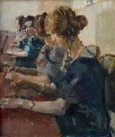 De Telefonistes van de Haagse Telefoon Centrale - 1924