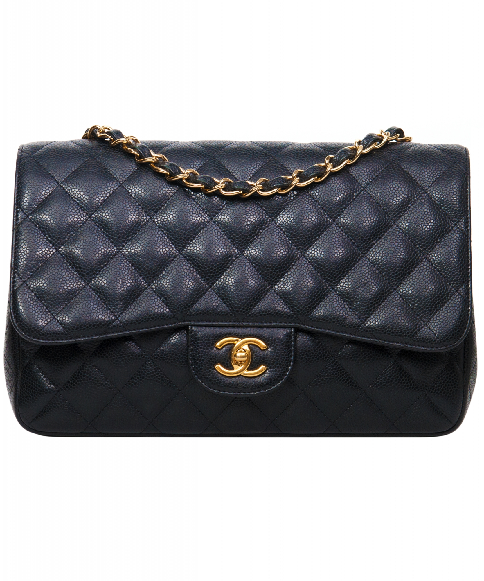 f51a92488ecb Chanel Classic Caviar Large Shoulder Bag | La Doyenne