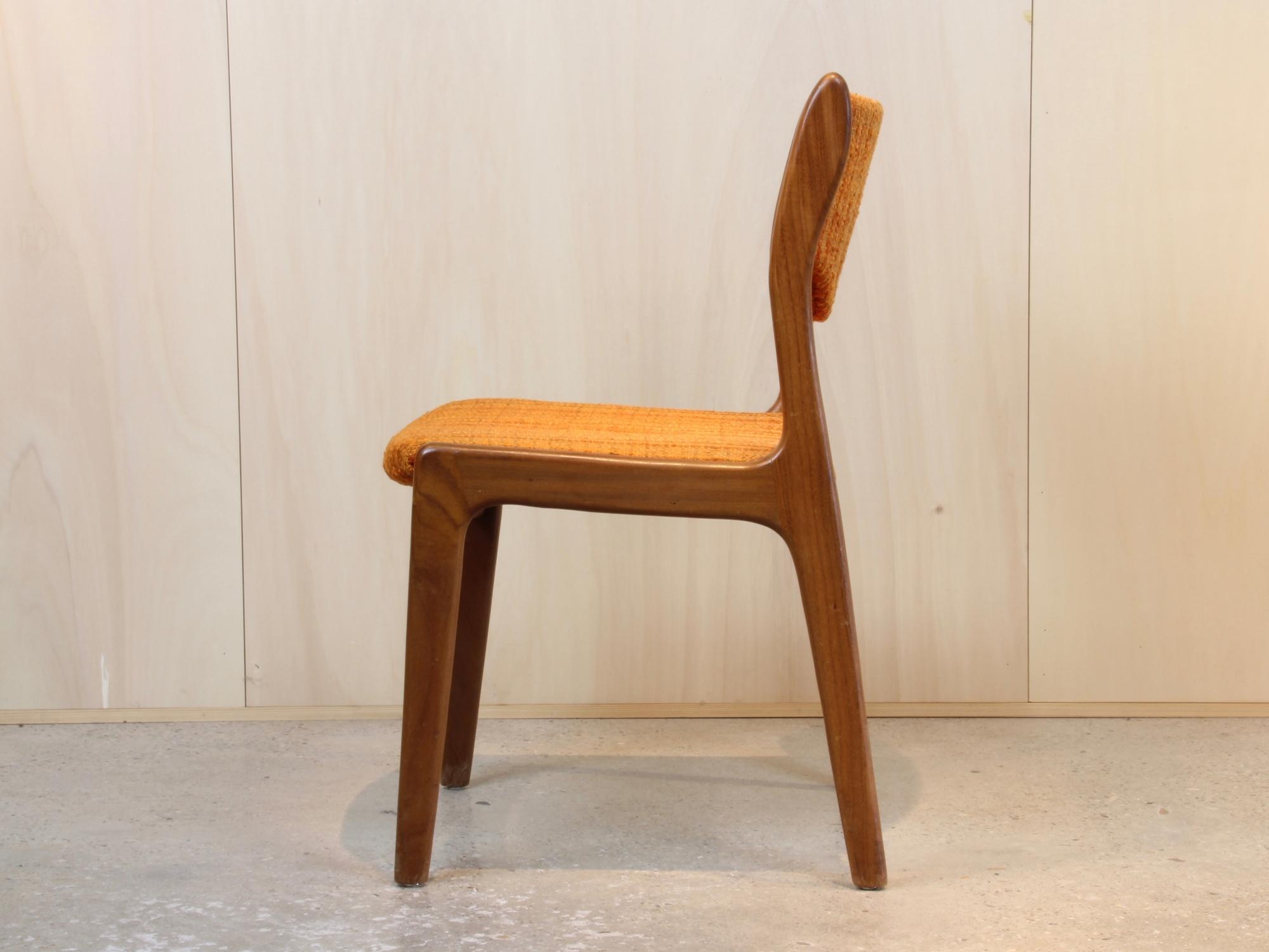 Enjoyable Johannes Andersen For Mahjongg Vlaardingen Four Chairs With Inzonedesignstudio Interior Chair Design Inzonedesignstudiocom