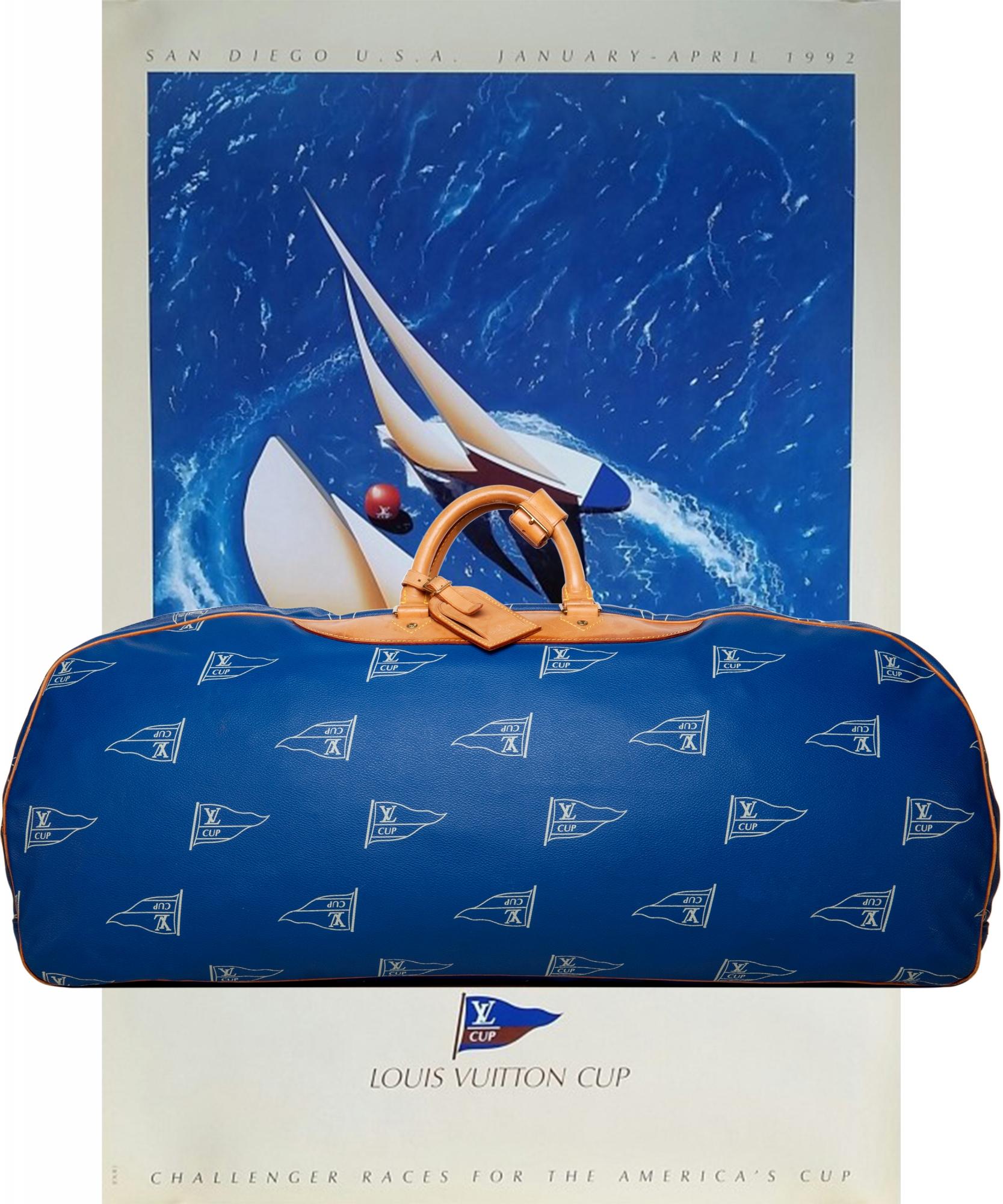 5f263e6105 Louis Vuitton America s Cup Duffle Travel Bag