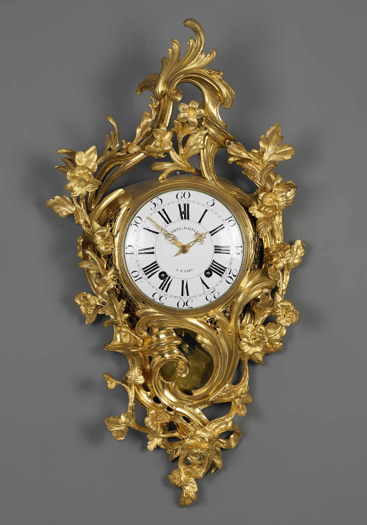 French Louis Xv Cartel Clock Artlistings