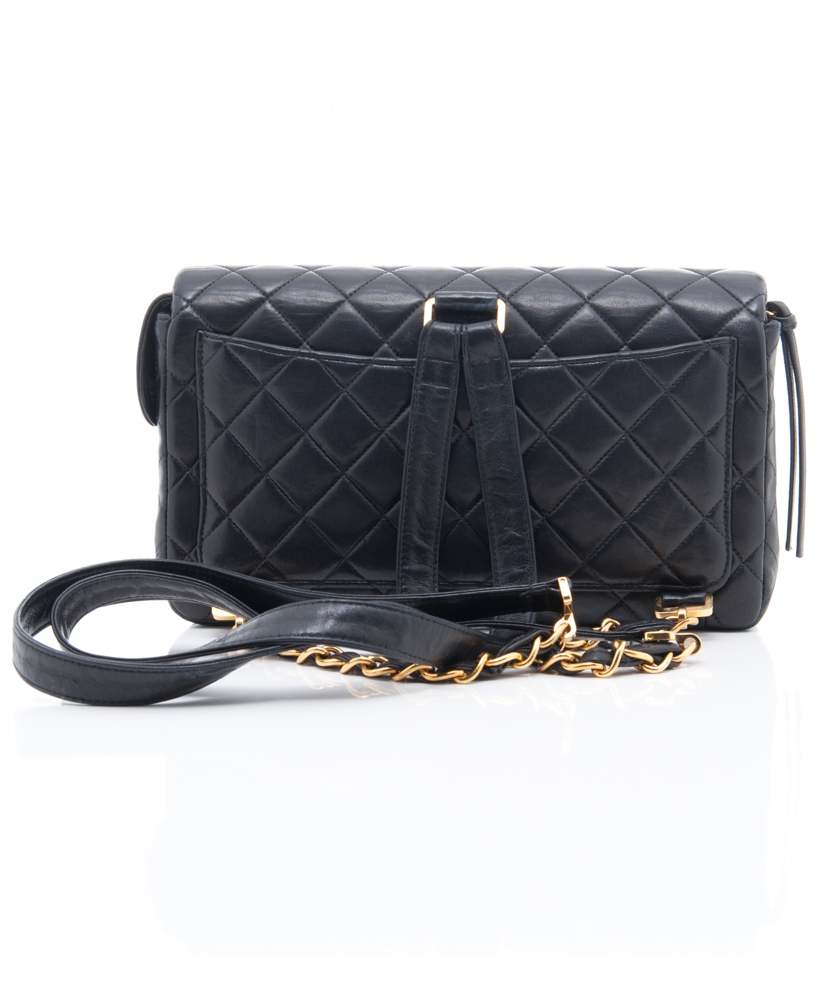 8d8a0e5ea6d4 Chanel Blue Quilted Lambskin Backpack | La Doyenne