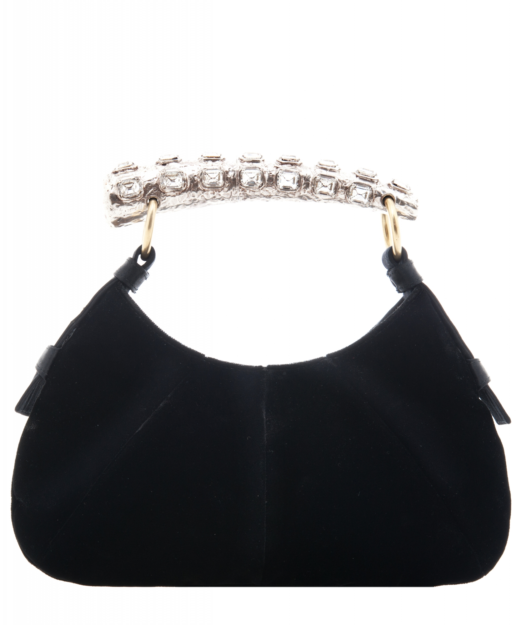 a20cbaac33b6 Yves Saint Laurent  Mombasa  Evening Bag in Black Velvet