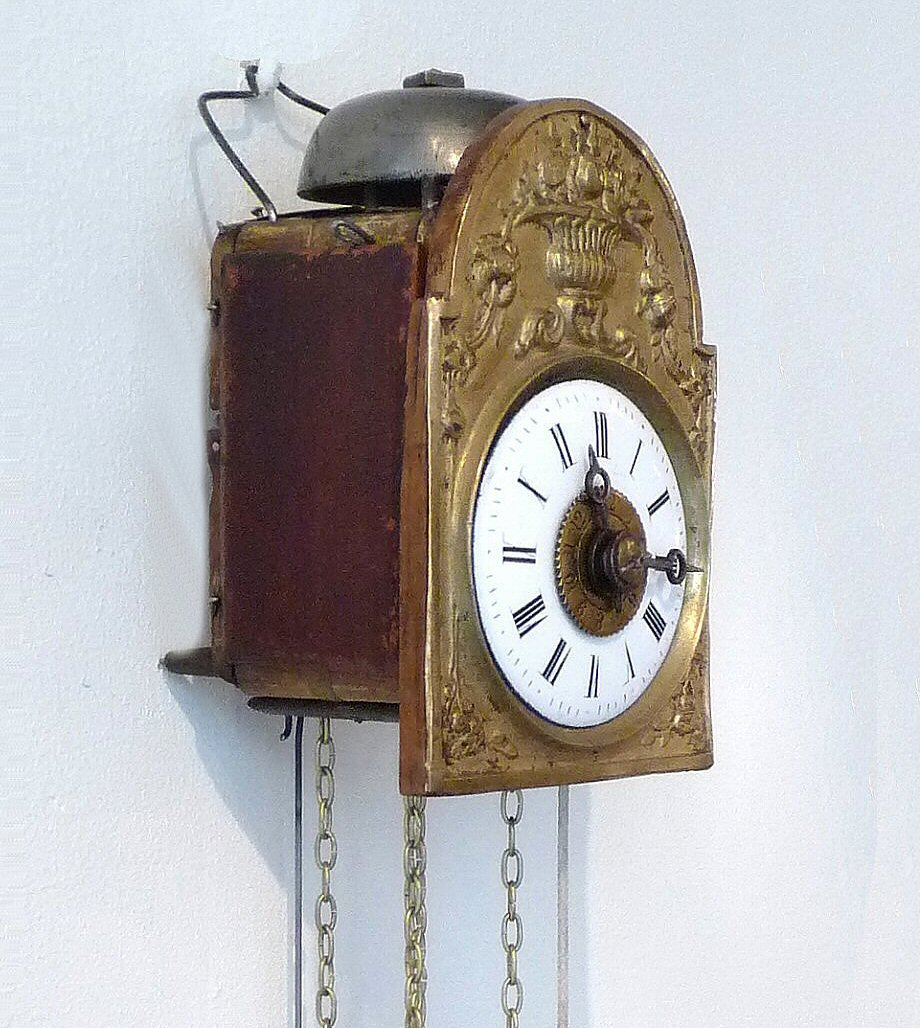 German weight driven wall clocks 12000 wall clocks an attractive miniature wall clock alarm striking hours on a german weight driven amipublicfo Images
