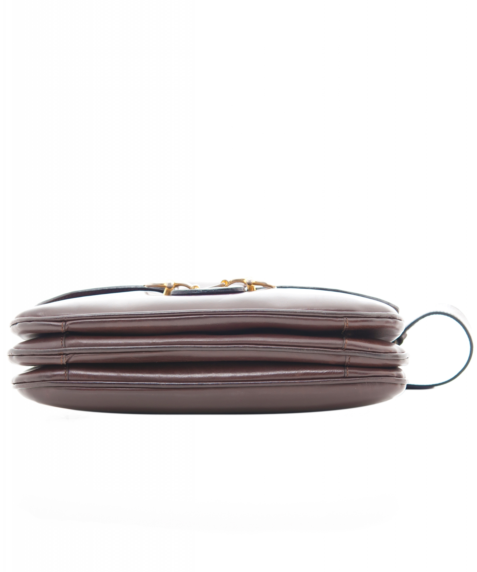aad187c1a8 Céline Vintage Brown Leather Shoulder Bag Céline Vintage Brown Leather Shoulder  Bag ...