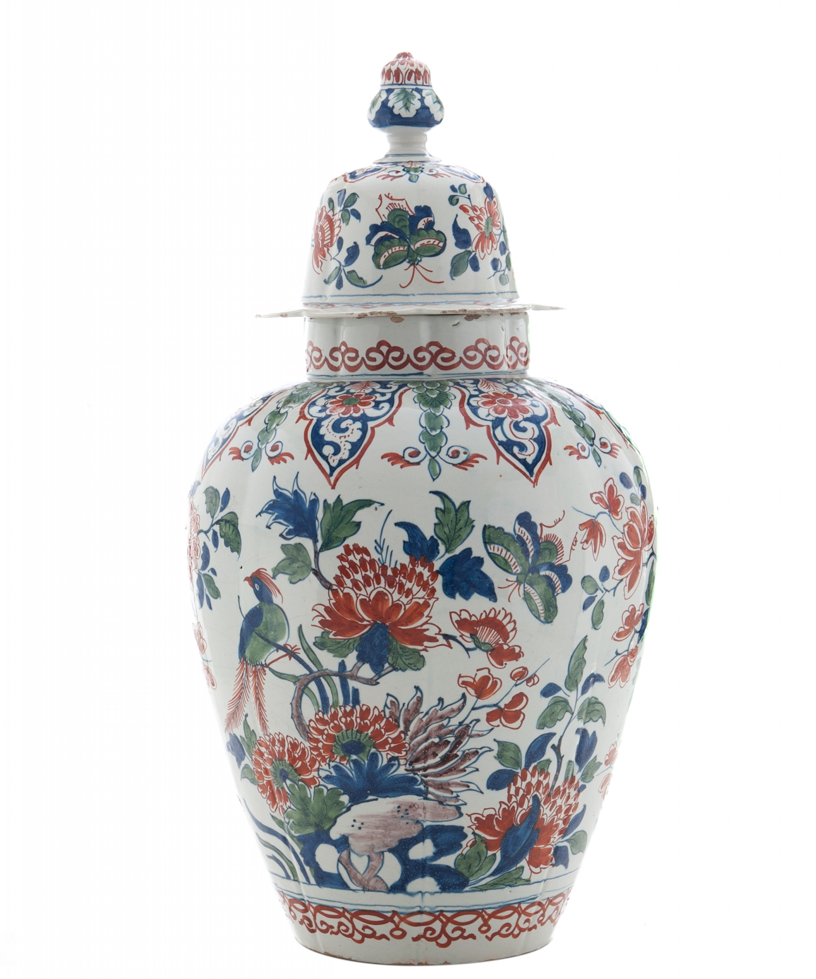 An 18th century dutch delft cashmir vase with lid artlistings an 18th century dutch delft cashmir vase with lid reviewsmspy